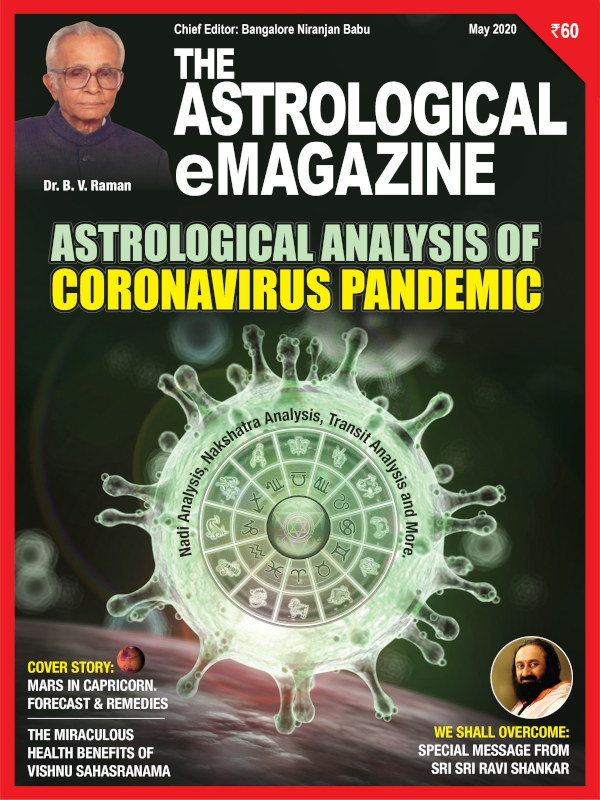 May 2020 issue astrology magazine