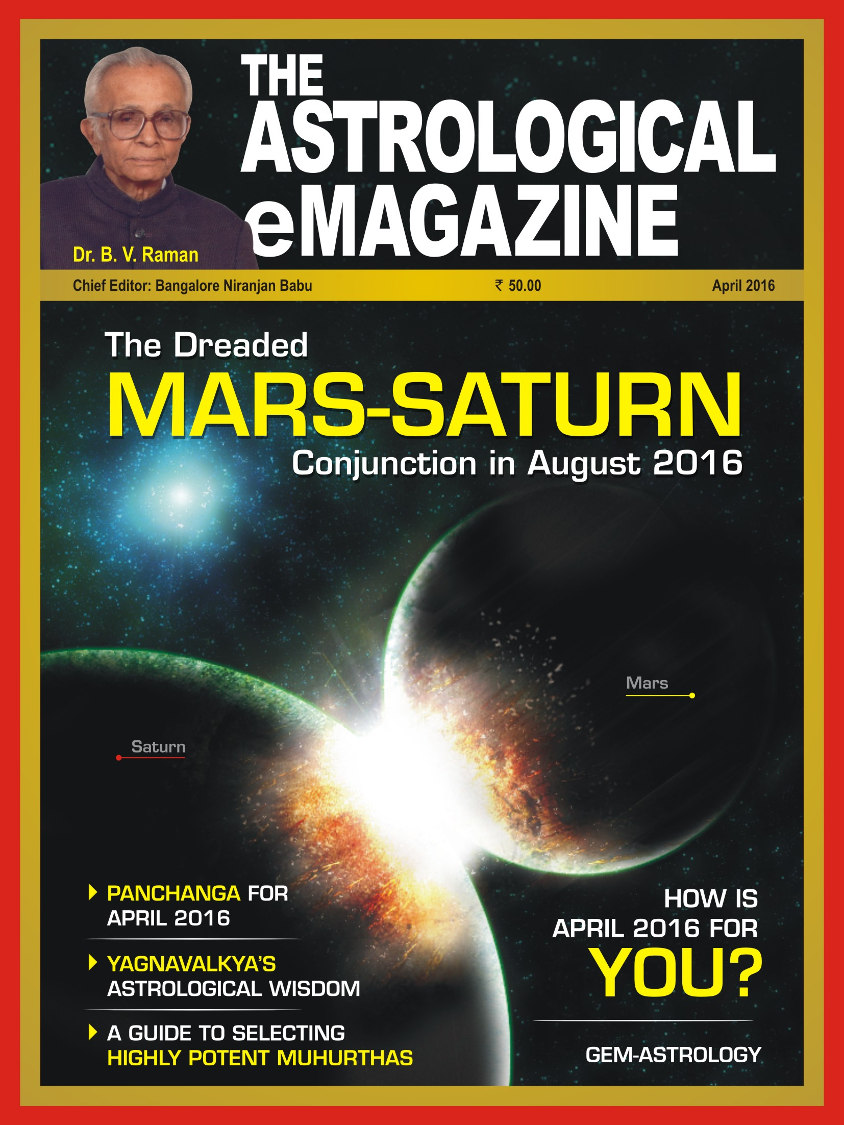 The Astrological eMagazine April 2016